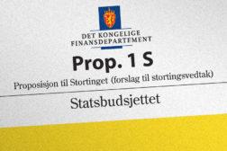 Forslag til budsjett for 2020 presentert i dag