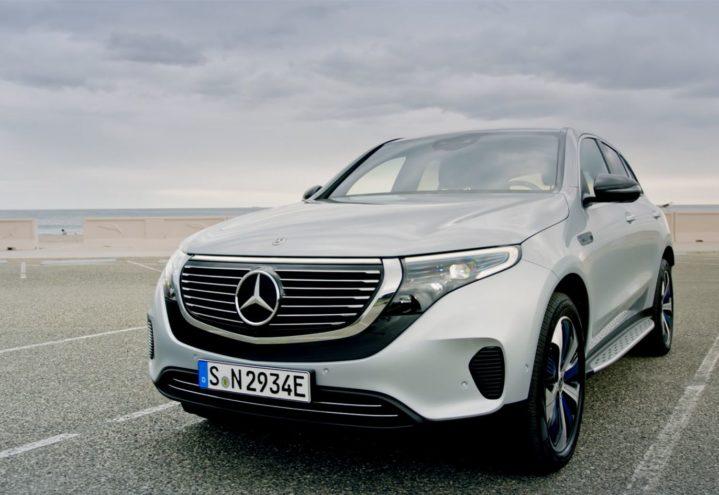 Kampanje Mercedes-Benz EQC
